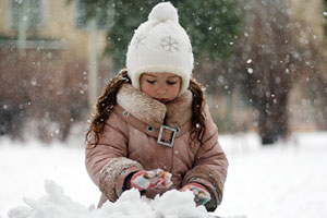 Дитяча зимня курточка