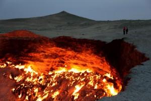 газовий кратер Дарваза