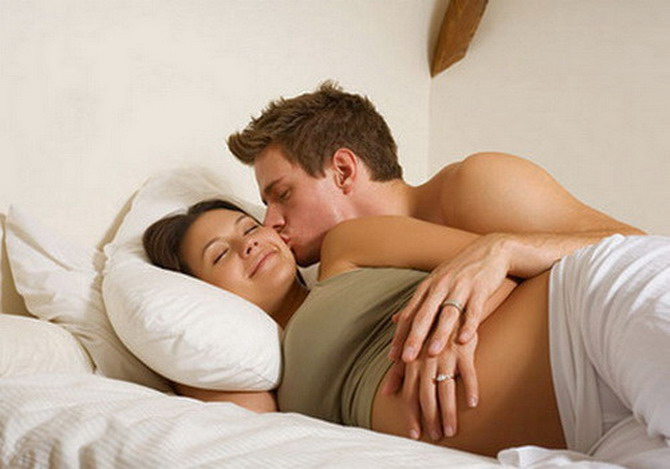 Занятя сексом пд час вагтност