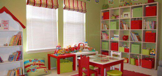 Як оформити дитячу ігрову кімнату
