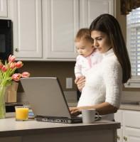 Робота в декреті без відриву від сім'ї можливо (частина)
