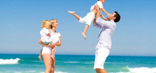 У відпустці з дитиною