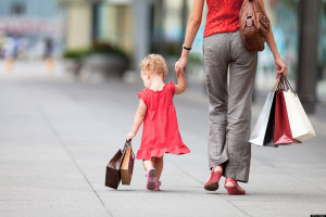 Як ходити з малюком в магазин