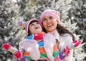 Забави на свіжому повітрі, або зимові розваги для дітей