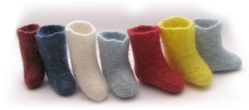 дитячі валянки кольорові