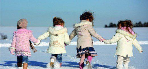 дитячі валянки на дітях