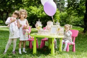 Дитячий день народження на природі