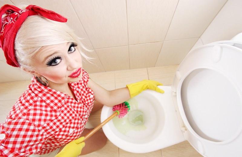 прибирання в ванній та туалеті