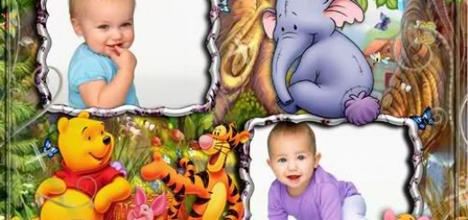 Гарне оформлення дитячих фотографій