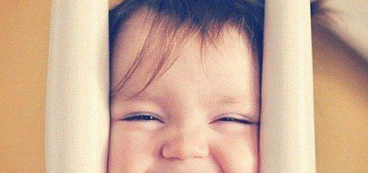 Як розвинути у малюка почуття гумору