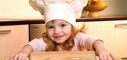 Навчаємо дитину на кухні