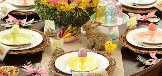 Як прикрасити стіл на Великдень
