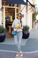 З чим носити жіночі джинси бойфренди в 20153