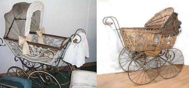 Цікава історія дитячої коляски