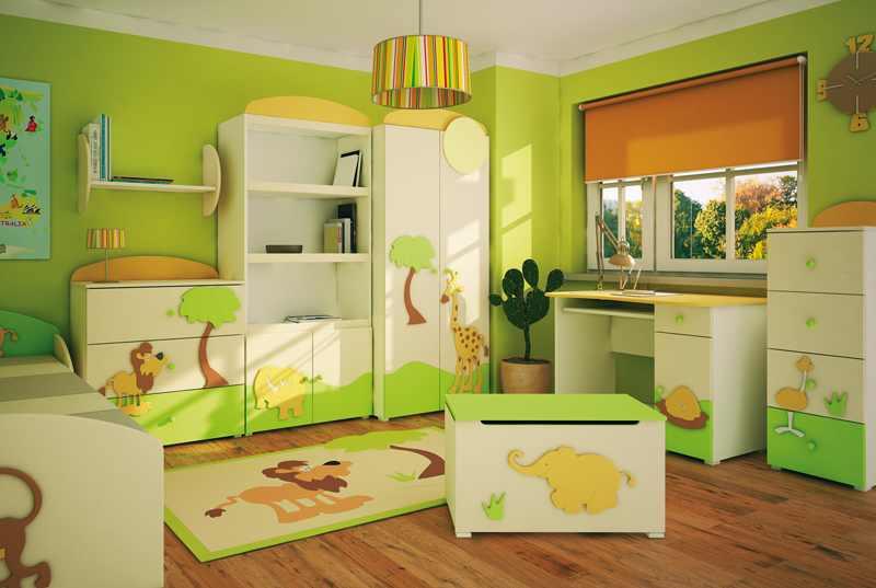 вибір дитячих меблів