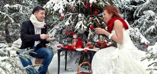 весілля взимку
