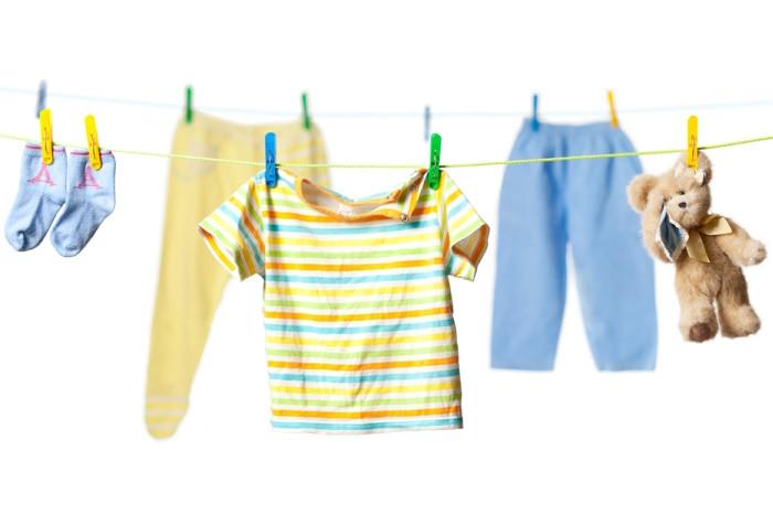 прання одягу новонародженого