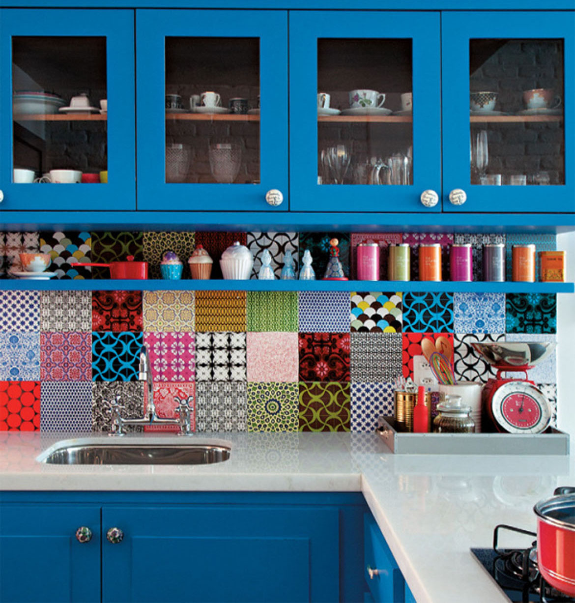 Tile backsplash designs