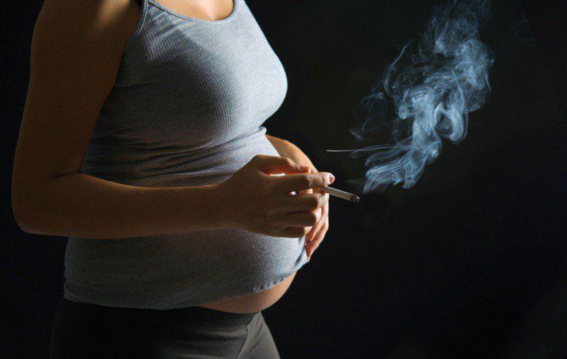 паління під час вагітності