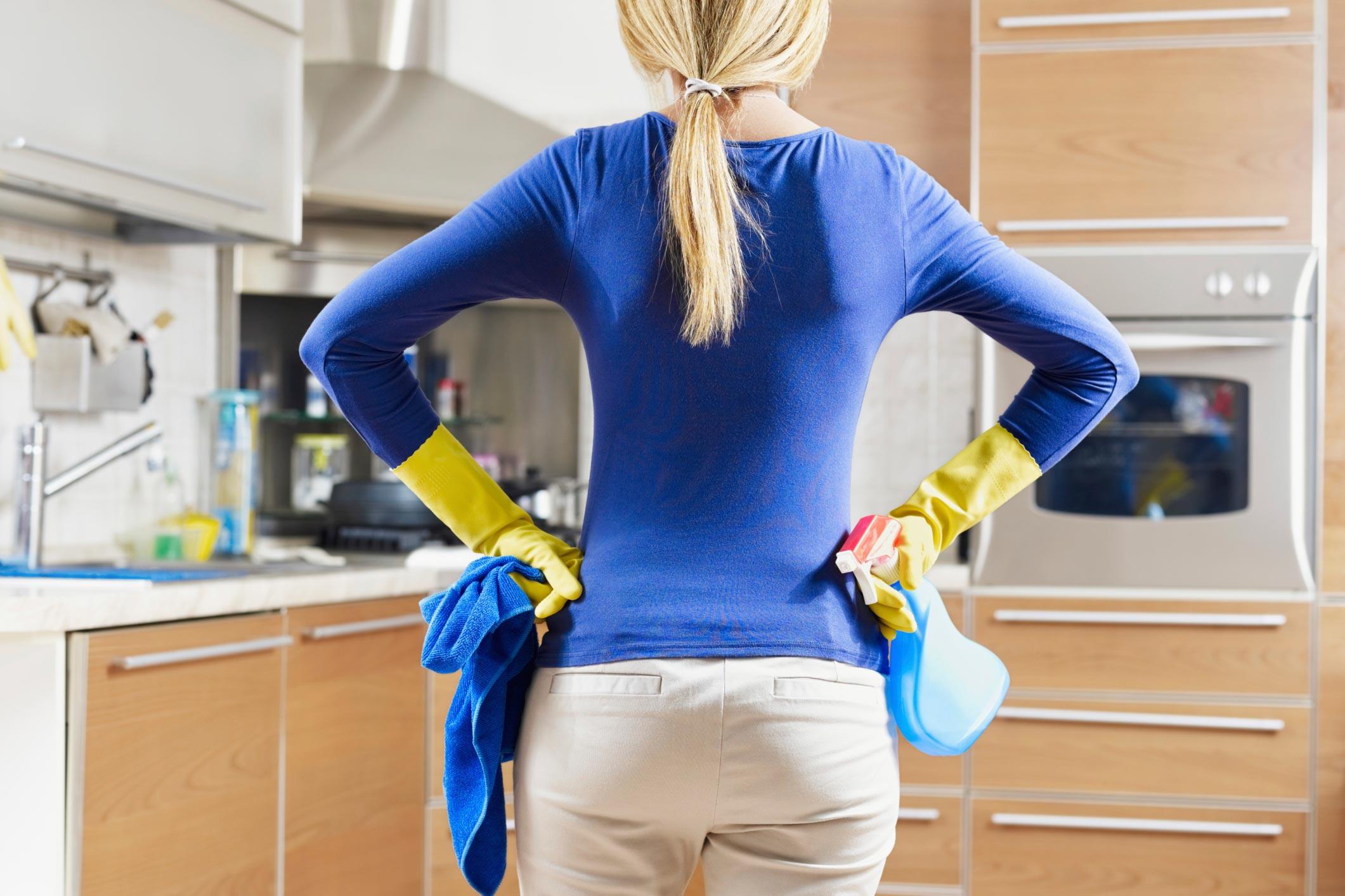Хозяйка и уборщица 6 фотография