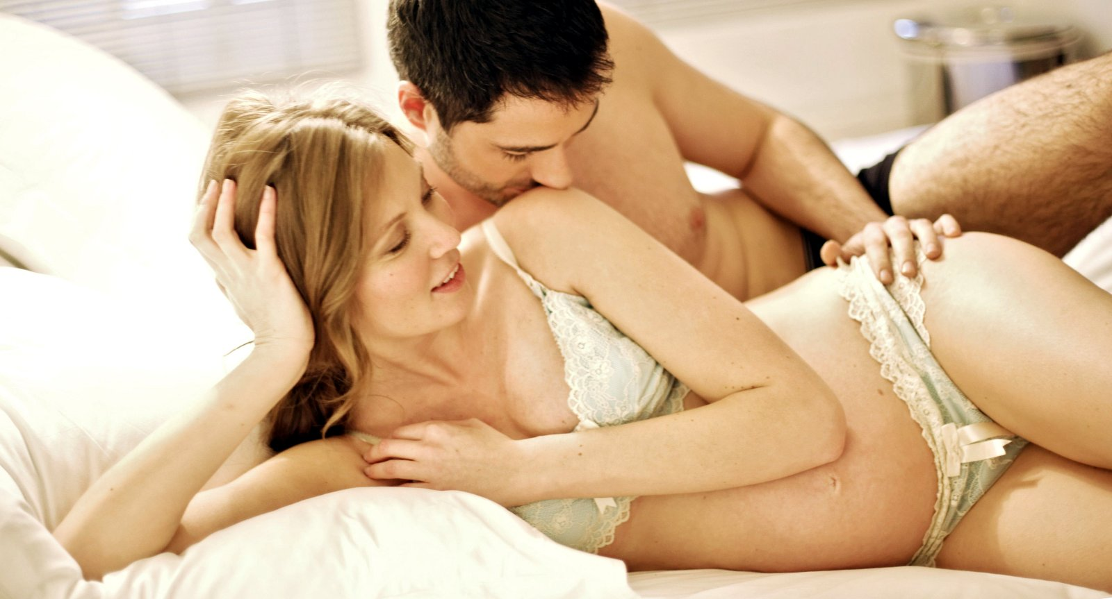 На яких м сяцях ваг тност можна займатися сексом
