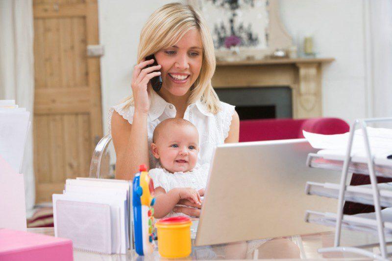 Топ-10 веб-професій для мам