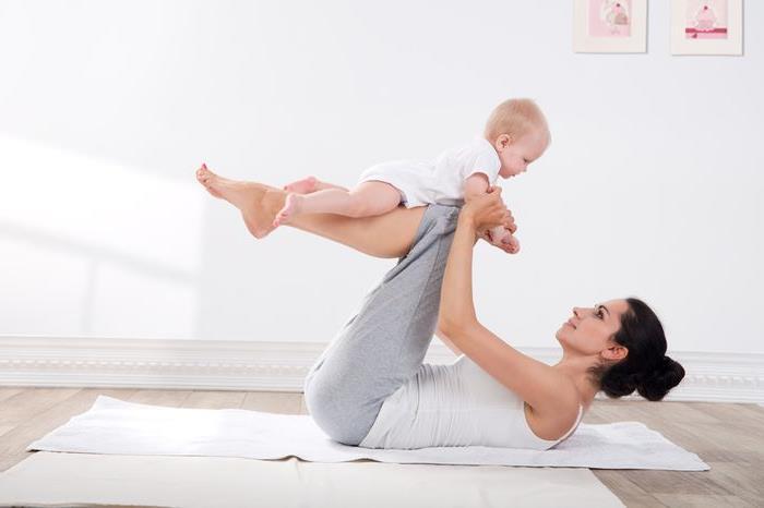 Тренування після пологів: вправи