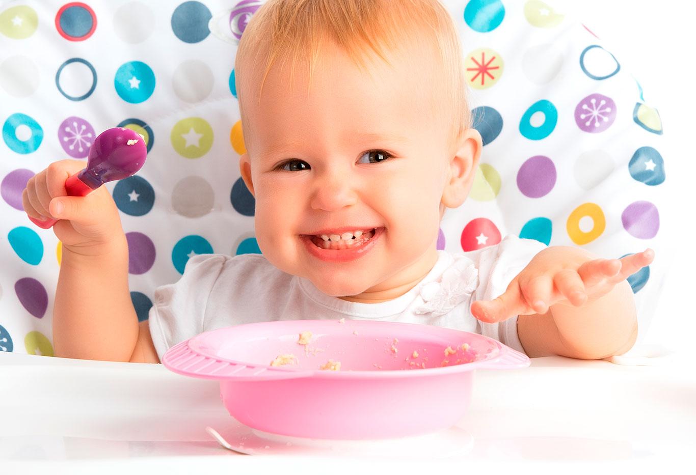 Як змінюється раціон дитини в 1 рік
