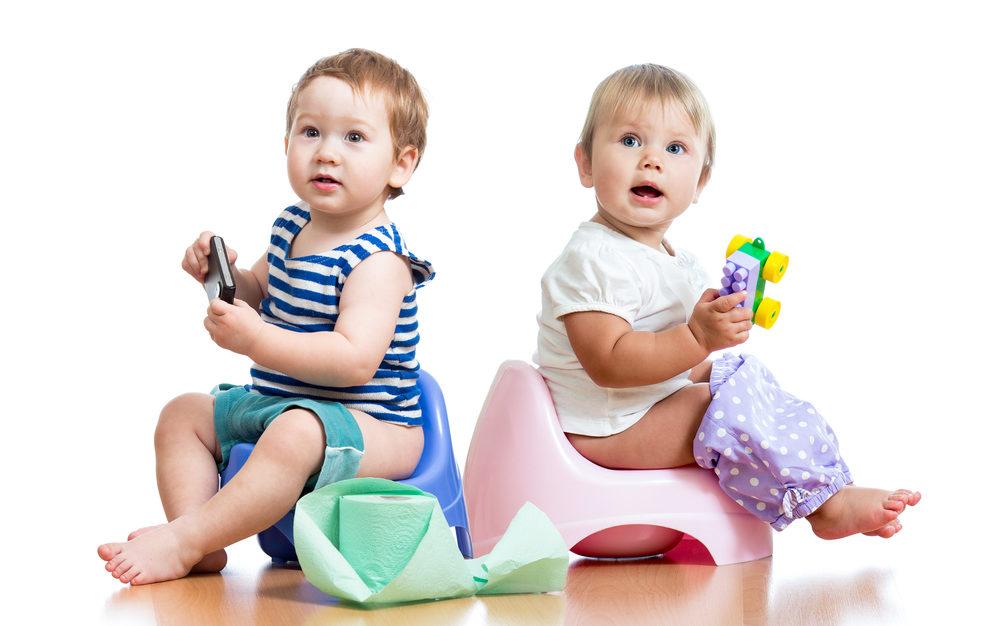 Привчання дитини до горщика: коли малюк готовий